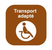 Lien au site des Comtés unis de Prescott et Russell à la page ou se retrouve les informations au sujet du transport adapté offert par PR Transpo