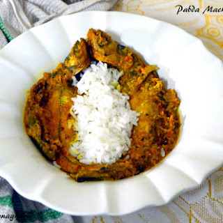 Pabda Mach – er Tel Jhal or Pabda Fish Curry