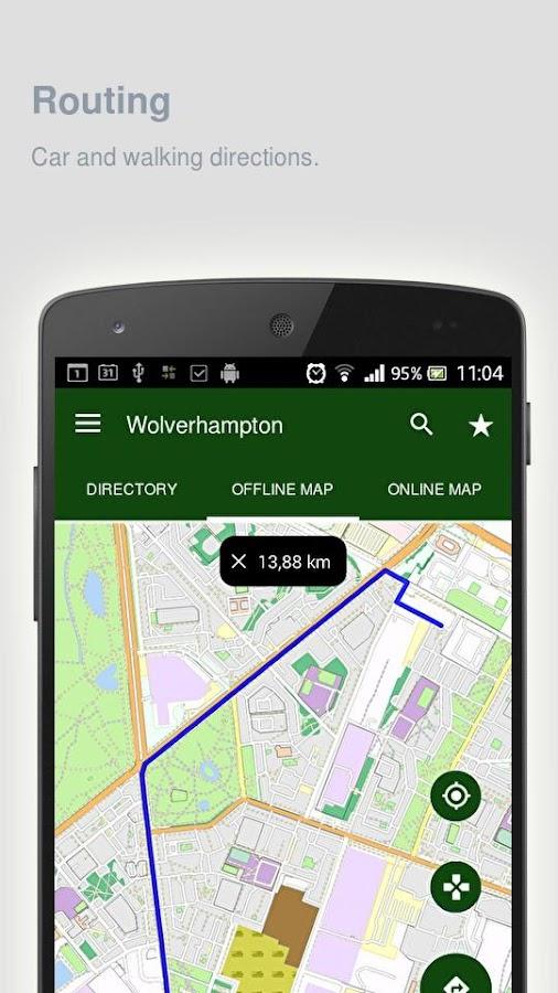Wolverhampton-Map-offline 22
