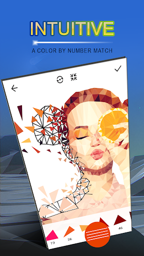 Poly Art - Jigsaw Puzzle u2013 Color By Number Lo Poly 10.0 screenshots 4