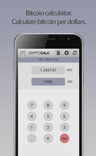 Crypto Currency & Bitcoin Calculator  screenshots 9