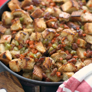Beer and Brats Stuffing (Dressing).