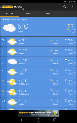 wetter.com - Weather and Radar  screenshots 13