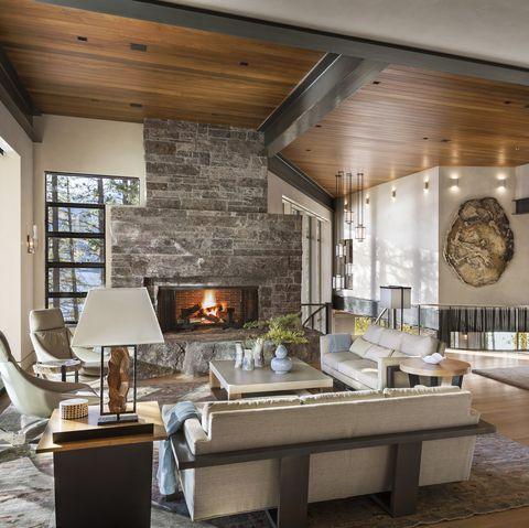 Rustic theme for interior design