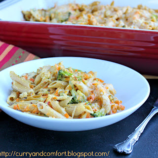Creamy Chicken and Pasta Casserole
