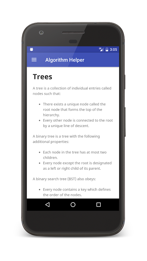 Algorithm Helper- screenshot