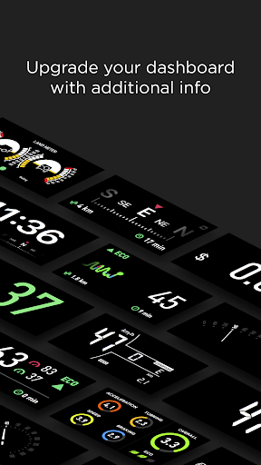 HUD Widgets u2014u00a0Driving widgets with HUD mode  screenshots 4