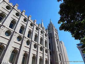 Photo: Another view of the Salt Lake Temple