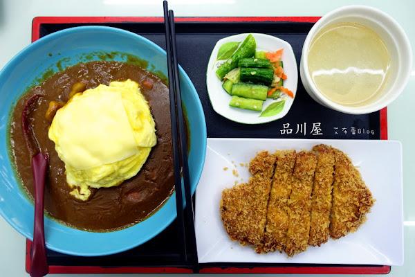 品川屋 台版日式料理店~平價美味,拉麵、咖哩、豬排。