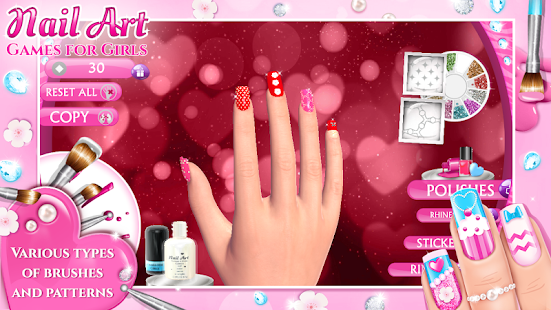 Nail art games for girls android apps on google play nail art games for girls screenshot thumbnail prinsesfo Gallery
