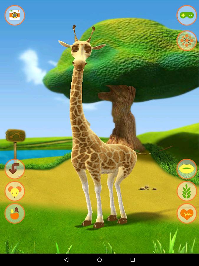 All About Talking Giraffe App