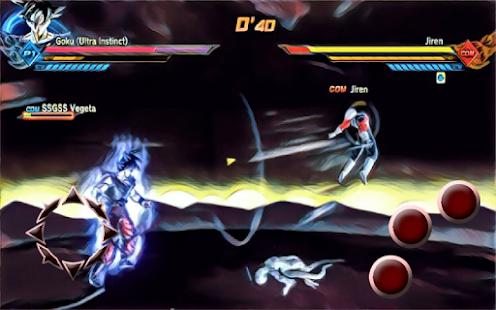 Walkthrough DBZ Super Saiyan 4 - náhled