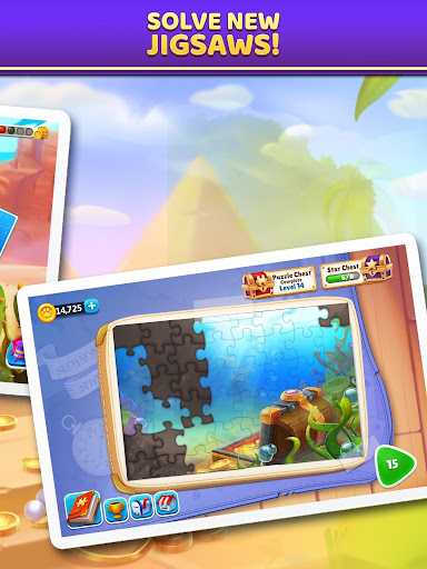 Puzzle Solitaire - Tripeaks Escape with Friends 9.0.0 screenshots 13