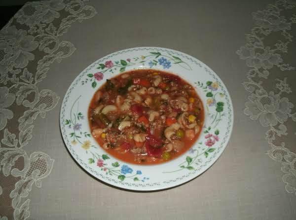 Carol's Italian Sausage Minestrone Recipe