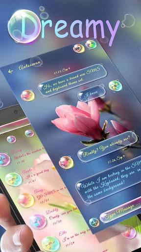 FREE GO SMS DREAMY THEME