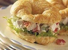 Mini Chicken Salad Croissants Recipe