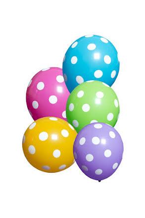 Ballong, Prickiga 10 st