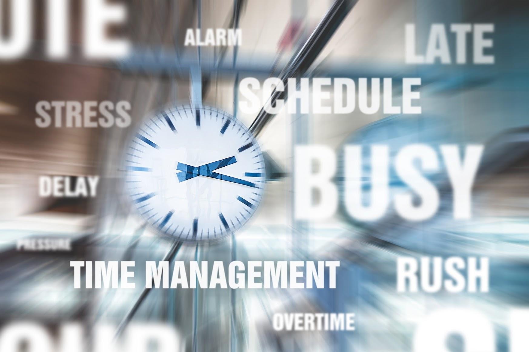 集中力を維持する、時間の使い方