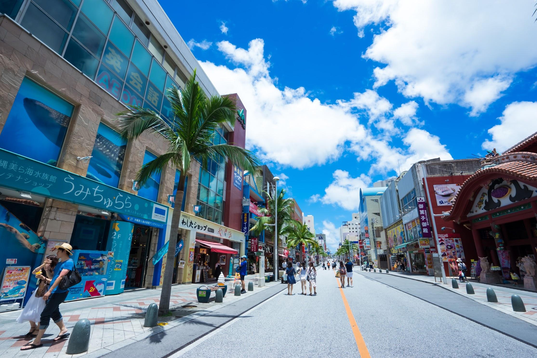 Okinawa Naha Kokusai street3