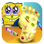 sponge foot doctor hospital Icon