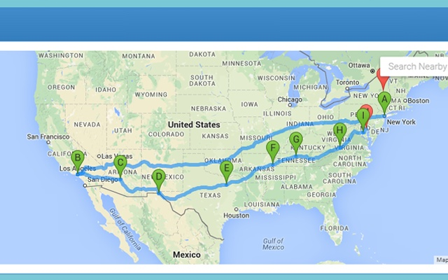 Route Planner Chrome Web Store – World Map Travel Planner
