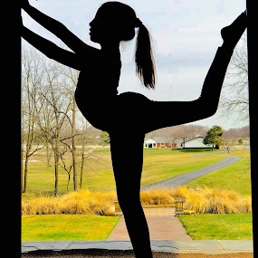 human silhouette  by Wendy Schultz - Sports & Fitness Fitness ( #cool #wow #fun #art #photo )