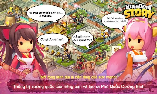 Hack Game Android Kingdom Story: Tam Quốc Tướng