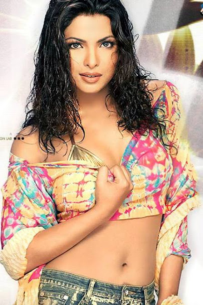 Priyanka Chopra in golden bikini, Priyanka Chopra navel pics, Priyanka Chopra hottest