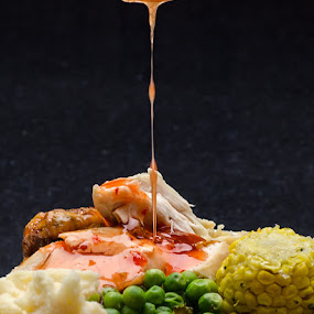 Finding the sauce by Daryl James - Food & Drink Plated Food ( Food & Beverage, meal, Eat & Drink,  )
