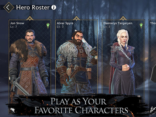 Game of Thrones Beyond the Wallu2122 apkpoly screenshots 14