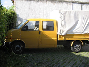 Photo: Unser neuer Transporter