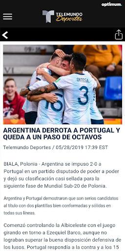 Telemundo Deportes - En Vivo screenshot 3