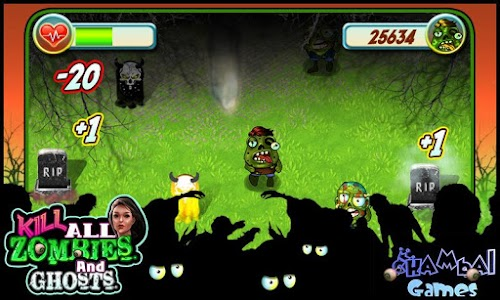 Kill all zombies and ghosts screenshot 0