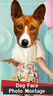Dog Face Photo Montage - náhled