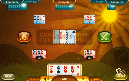 Rummy 500 1.12.1 screenshots 11