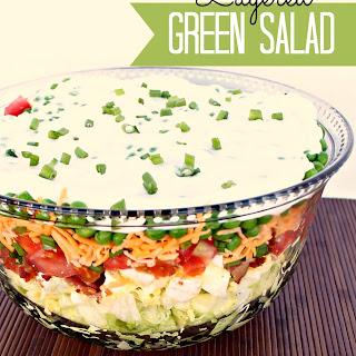 Green Salad Hard Boiled Eggs Recipes
