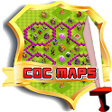 maps for clash of clans icon