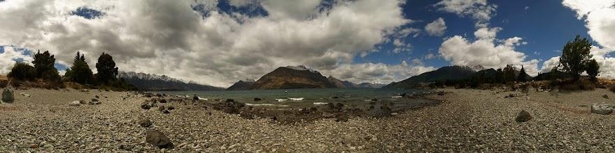 Photo: New Zealand, Southland, Queenstown, Lake Wakatipu