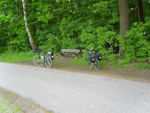 Photo: Da wir´s am Freitag etwas eilig hatten, konnten wir kaum Fotopausen einlegen und radelten zügig über Lippstadt und Soest Richtung Möhnesee