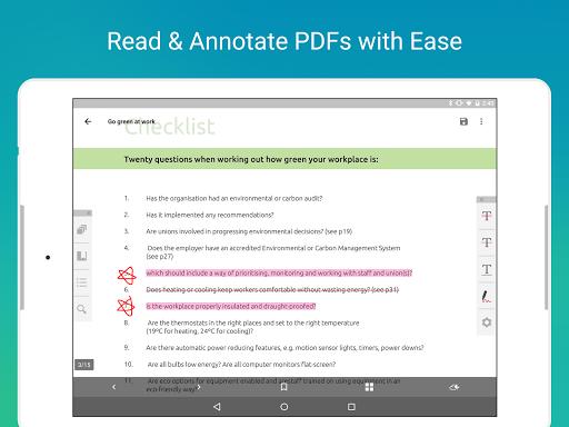 PDF Reader - Scanu3001Edit & Share  screenshots 16