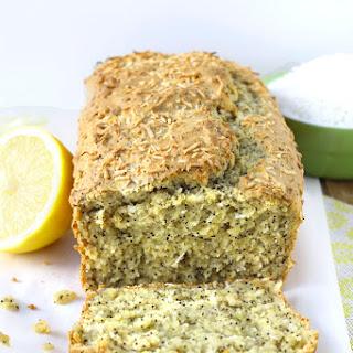 Coconut Lemon Poppy Seed Loaf {Gluten-Free}