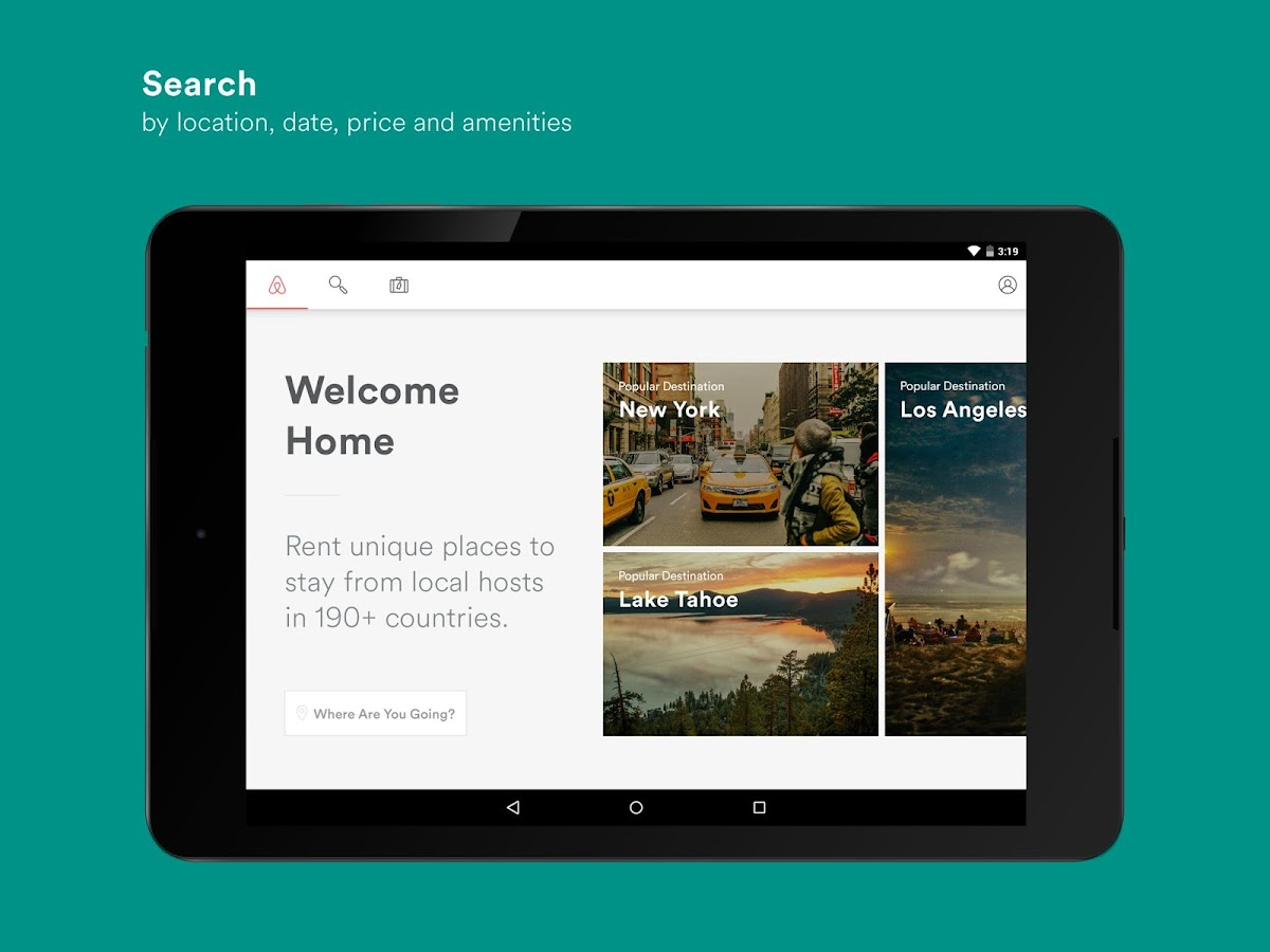 Airbnb - screenshot