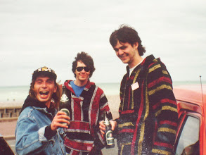 Photo: Kicker ,my brother and me,Dieppe 1994