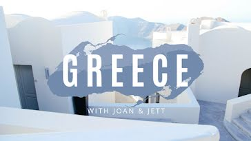 Greece with Joan & Jett - YouTube Thumbnail Template