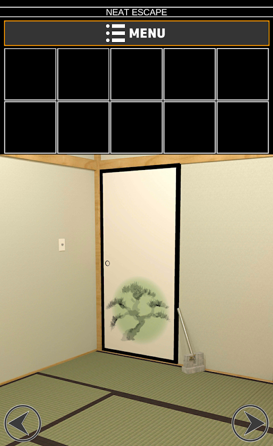 "Escape ""Japanese-style room""- screenshot"