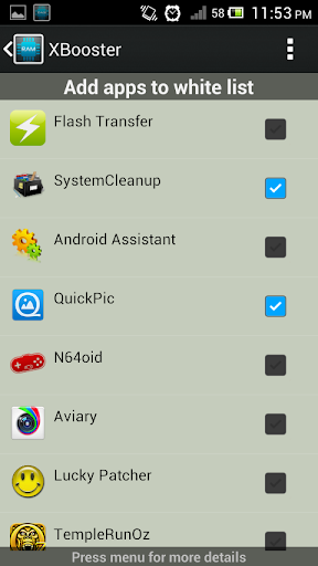 XBooster *ROOT* - Free 5.1.2 screenshots 6