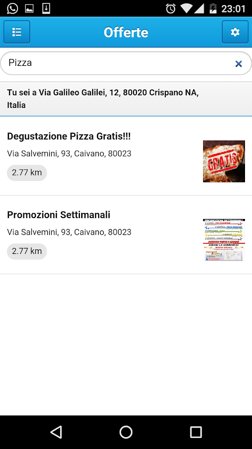 PromoDeals - AziendePerLaVita- screenshot