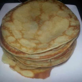 Norwegian Pancakes with Cardamom.