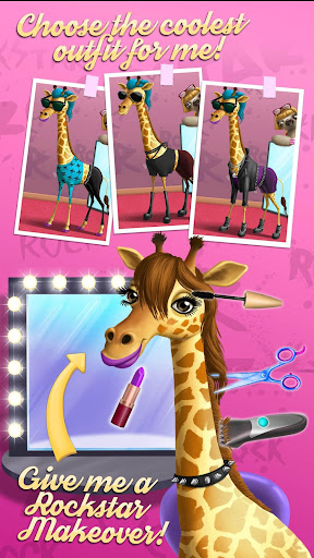 Rock Star Animal Hair Salon 2.0.0 screenshots 5