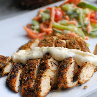Grilled Chicken with White BBQ Sauce.